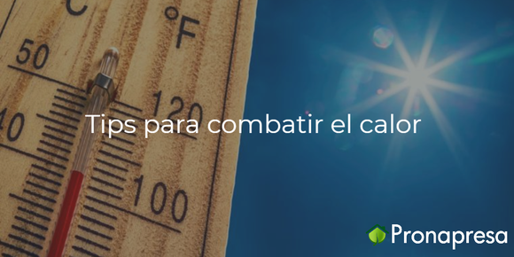 tips combatir el calor