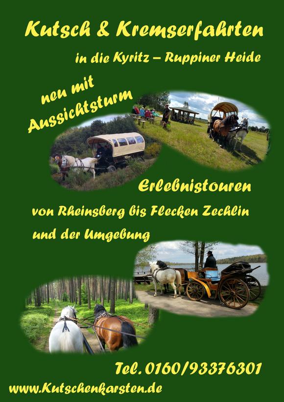 Kutsch & Planwagenfahrten Ruppiner Heide