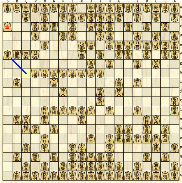 図2.中盤の盤面例.