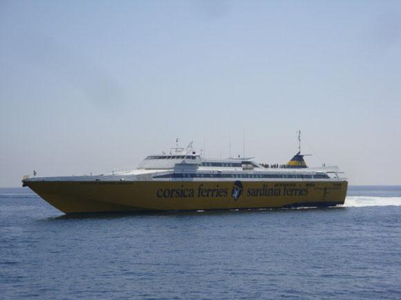 Le Corsica Express Seconda qui assurera cet été les liaisons vers l'Ile d'Elbe