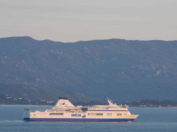 Le Jean Nicoli, dernière acquisition de la SNCM est le navire de la compagnie le mieux adapté au marché: un navire mixte rapide aux capacités passagers et fret importantes
