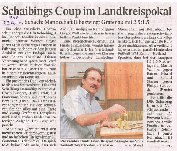 14.06.14, Lkr.-Pokal Schaibing2 : Grafenau 1
