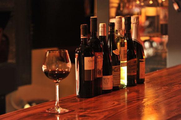 おすすめワインを多数ご用意しております。