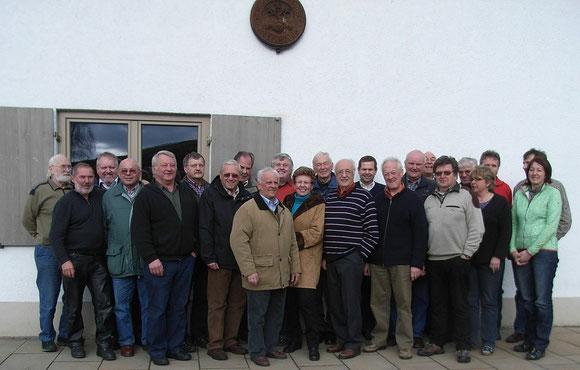 Teilnehmer der Bezirksversammlung