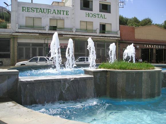 Fuente ornamental en Loja - Granada