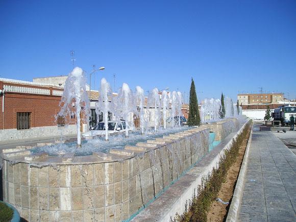 Fuente ornamental Valdepeñas CIUDAD REAL
