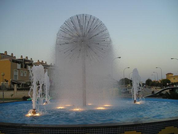 Fuente ornamental Rincon de la Victoria - Málaga