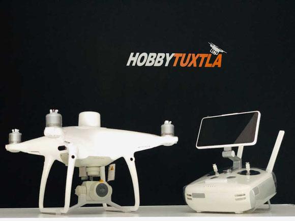 Phantom 4 RTK el dron que se posiciona como la mejor solución en trabajos de fotogrametría y mapeo con drones, de venta en drones Hobbytuxtla