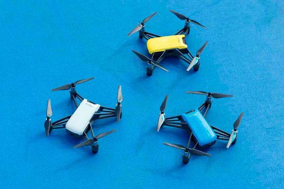 DJI Tello es un dron con cámara de la marca Ryze excelente opción para regalo