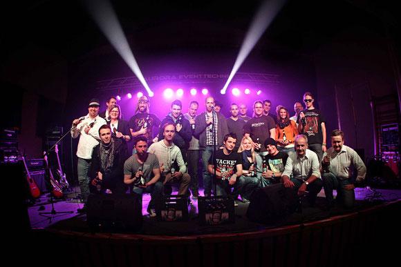 Bandgruppenphoto