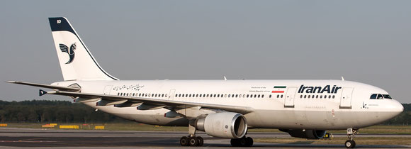 Iran Air's aging fleet, displayed here is an A300, will be replaced by modern Airbus and Boeing aircraft