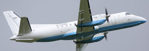 Loganair operated P2F converted Saab 340