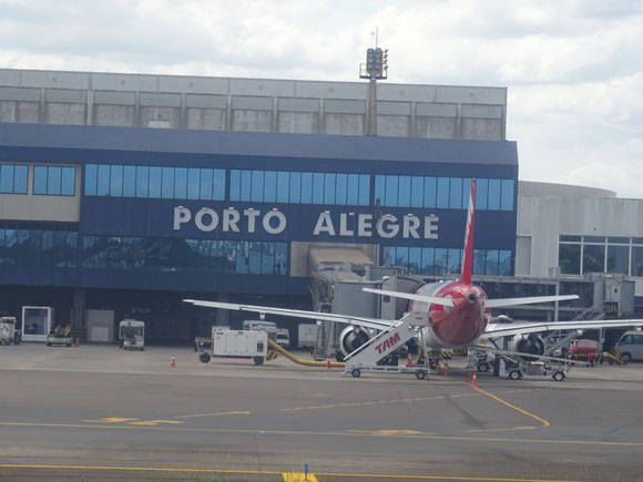 Porto Alegre Airport (pictured here) and Fortaleza are run by Fraport AG soon