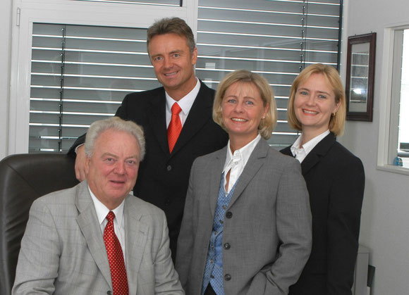 QCS is a family-run company, documented in this picture: Dieter Haltmayer, his children Stephan, Heidi and Jennifer (from left to right) – courtesy: QCS