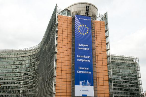Decisions on stricter aviation rules will be decided in the Berlaymont Building of the European Commission in Brussels  -  courtesy: EC