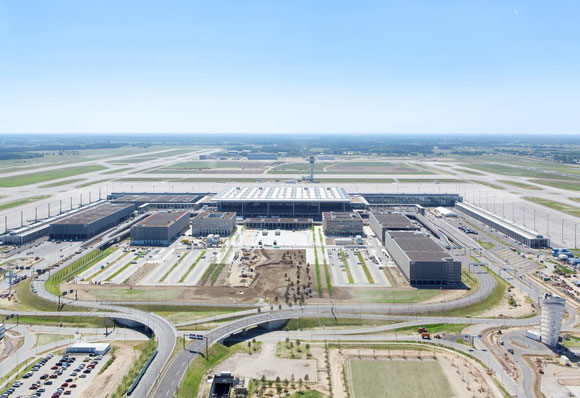 Still unfinished but already undersized: Berlin's plagued BER Airport