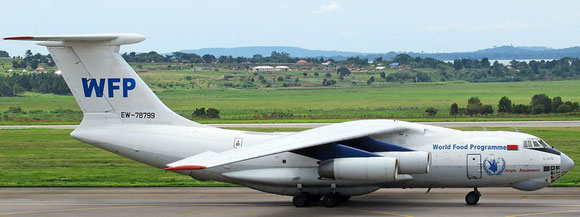 TransAVIAexport operated IL-76TD  -  company courtesy