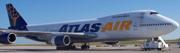 Atlas Air is charged by the Teamsters union of having disregarded safety issues, influenced by DHL  -  photo: hs