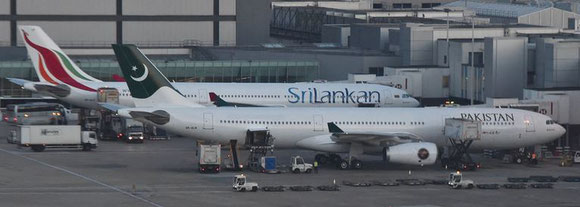 Pakistan's government questions the terms of a leasing agreement between PIA and Sri Lankan.