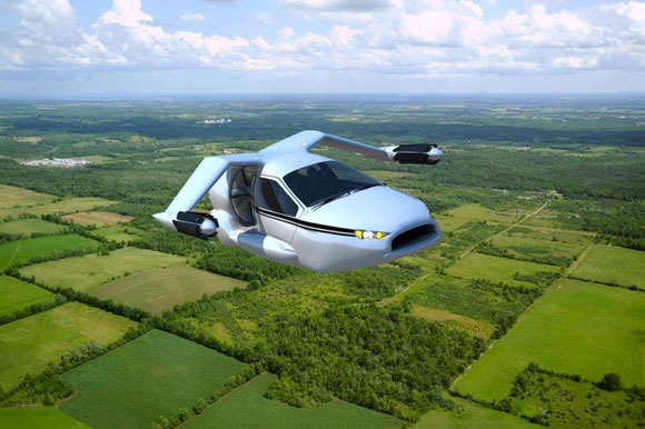 Terrafugia's TF-X project has four seats