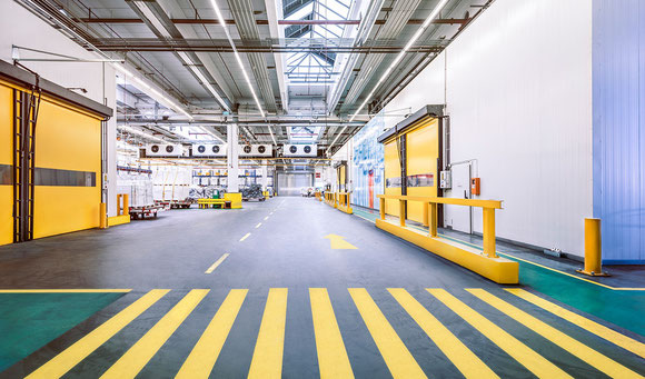 Image of LH Cargo's new Cool Center project  -  photos: Lufthansa