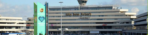 Cologne-Bonn Airport - company courtesy