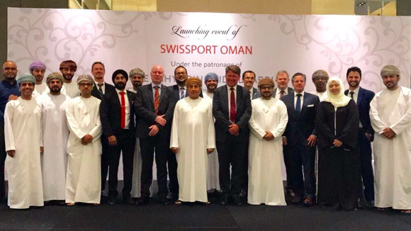Swissport Oman launching event.