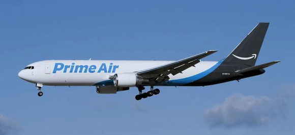 Will Amazon's Prime Air 767 freighters soon be seen in Zhengzhou?  -  picture: Amazon