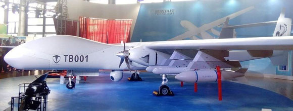 China's express firms are eying an enhanced version of Tengoen-built cargo drone TB001