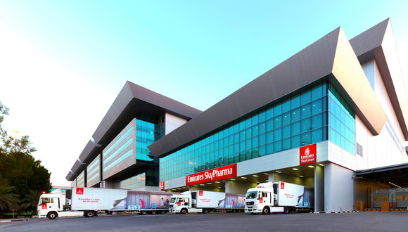 EK SkyCargo's new pharma facility  -  courtesy Emirates