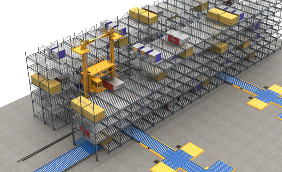 Image of the 9,000 square meter cargo terminal built in Nairobi  -  courtesy ACUNIS