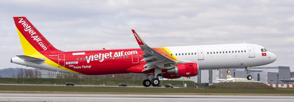 Up to now, Vietjet Air operates only passenger aircraft. Pictured here is an Airbus A321  -  company courtesy