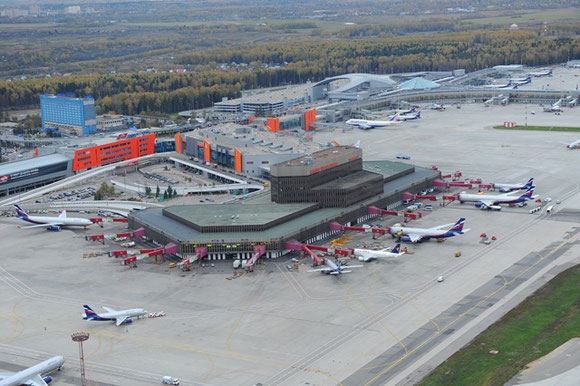 Moscow Sheremetyevo Airport is Russia's leading cargo hub