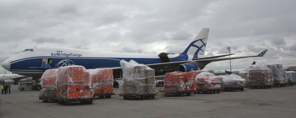 AirBridgeCargo contributes the lion's share of air freight handled in Russia  -  photo: hs