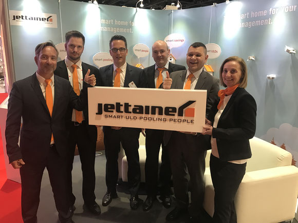 "Six Jettainer ""Smart Pooling ULD People"""