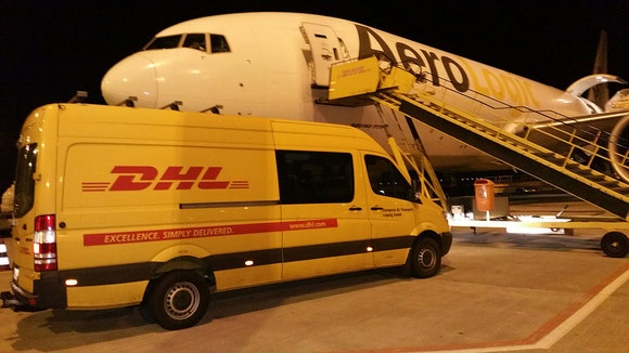 The capacity of AeroLogic's two additional Boeing 777 freighters will be utilized exclusively by DHL Express  -  picture: hs