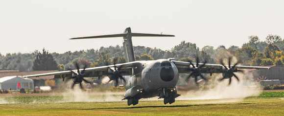Airbus' problem child A400M  -  company courtesy