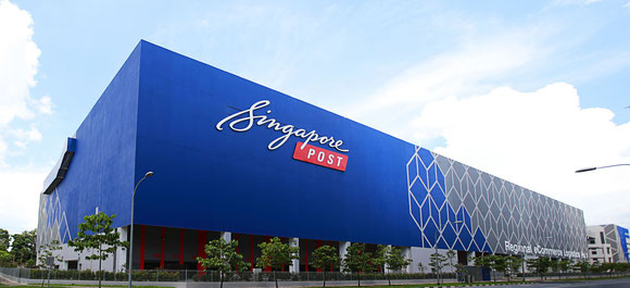 SingPost newly opened e-commerce hub in Singapore