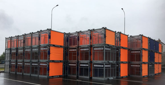 5 ft inhouse containers mapped by Realog GmbH for SVO ops  -  photo: Oliver Schaaf