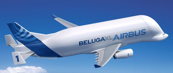 Animation of BelugaXL  -  courtesy Airbus