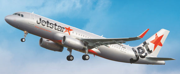 ECS will soon be responsible for filling the holds of Jetstar Asia's fleet  - company courtesy.