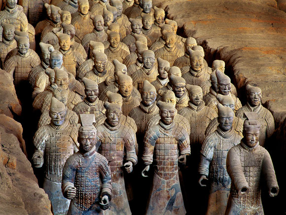 Will the terra-cotta army soon be guarding HNA's new hub?