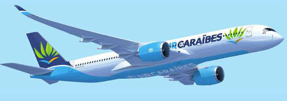 Image of A350 joining Air Caraibes fleet soon  -  company courtesy