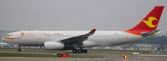 Tianjin Airlines flies long-haul with A330-200