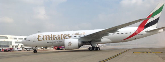 As of 29 October, Emirates will serve BRU double daily with cargo-friendly B777-300 pax aircraft  -  photo: ms