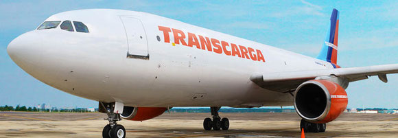 Transcarga is banned from flying into the U.S. Displayed here is one of their three A300-B4 freighters - company courtesy