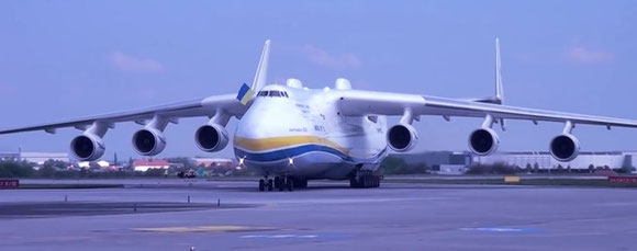 The landing of the AN-225 at Perth Airport a year ago attracted thousands of aviation enthusiasts.