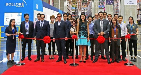 Opening of Bolloré regional centre in Singapore