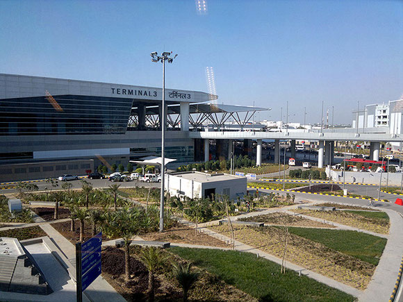 T3 at Delhi's current Indira Gandhi International Airport is nearing saturation  -  company courtesy
