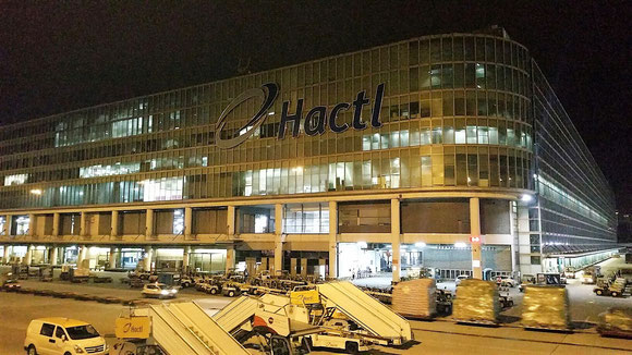 HACTL freight terminal at Chek Lap Kok Airport, Hong Kong  -  photo: hs
